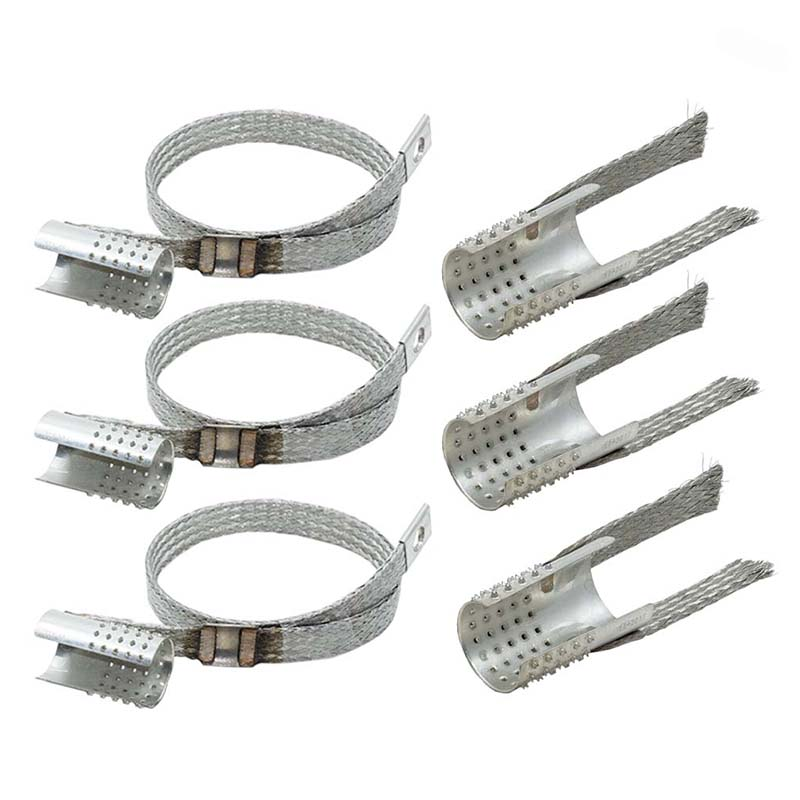 Erdungsset / Schirmadapter für Kabel mit Bandschirm