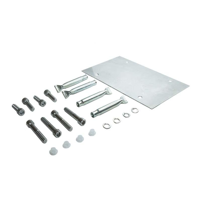 Montagelehren und Anschlagplatten