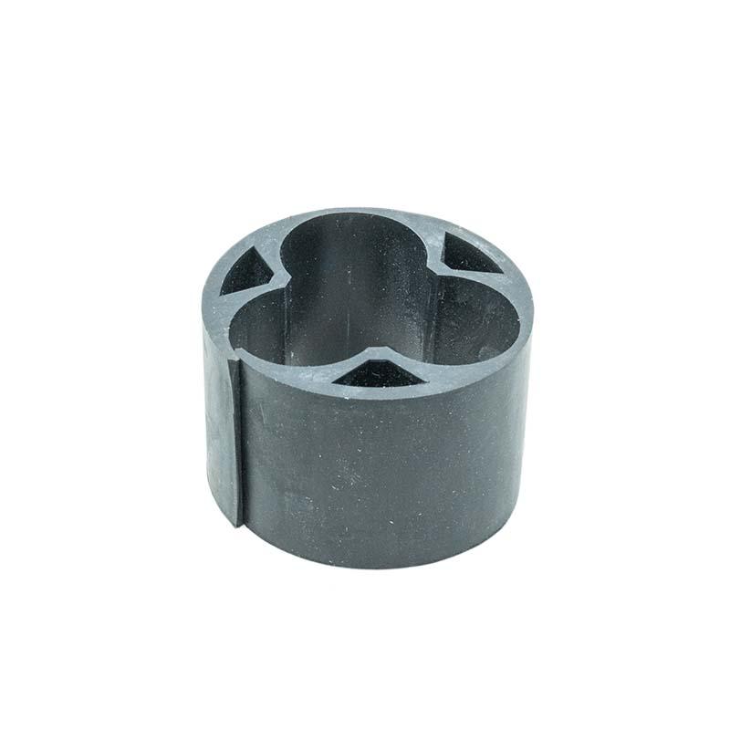 Gummieinlagen für 3 Einleiterkabel