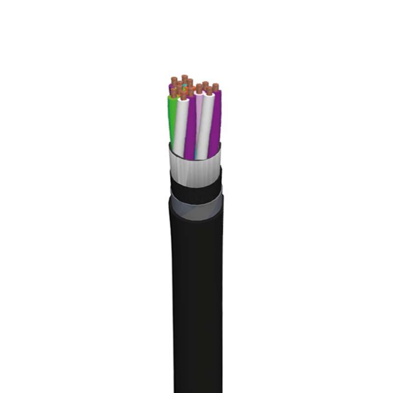Teilnehmer-Kabel TK PE4-ALT-CLT (SBB) ...x4x0.8mm